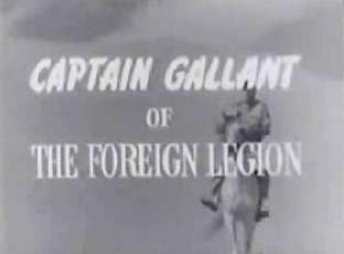 Captain Gallant of the Foreign Legion next episode air date poster
