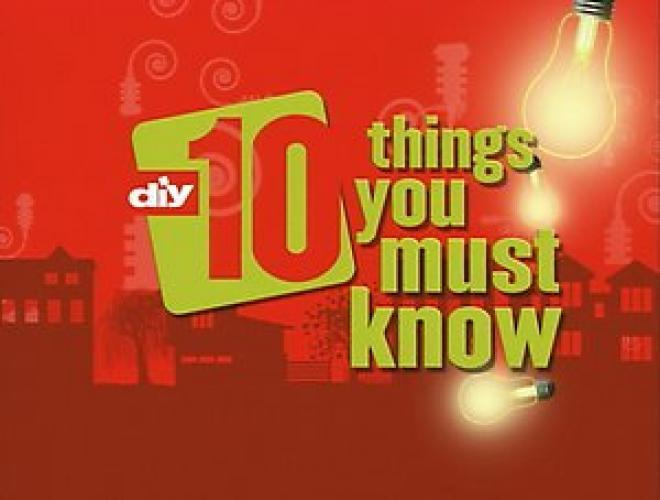 10 Things You Must Know next episode air date poster
