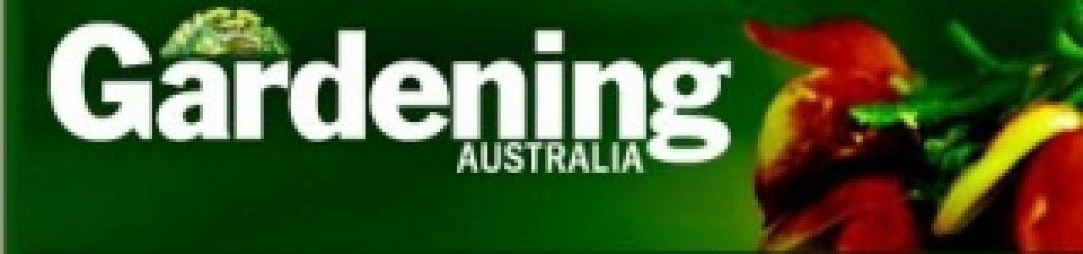Gardening Australia next episode air date poster