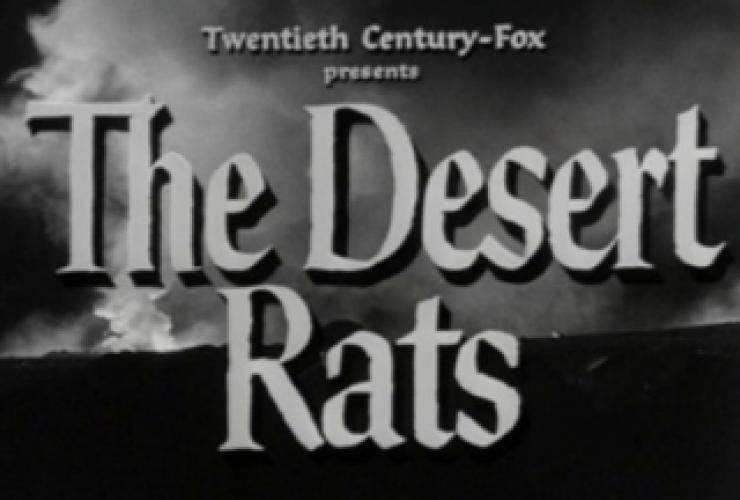 Desert Rats next episode air date poster