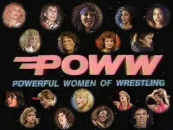 POWW: Powerful Women of Wrestling next episode air date poster