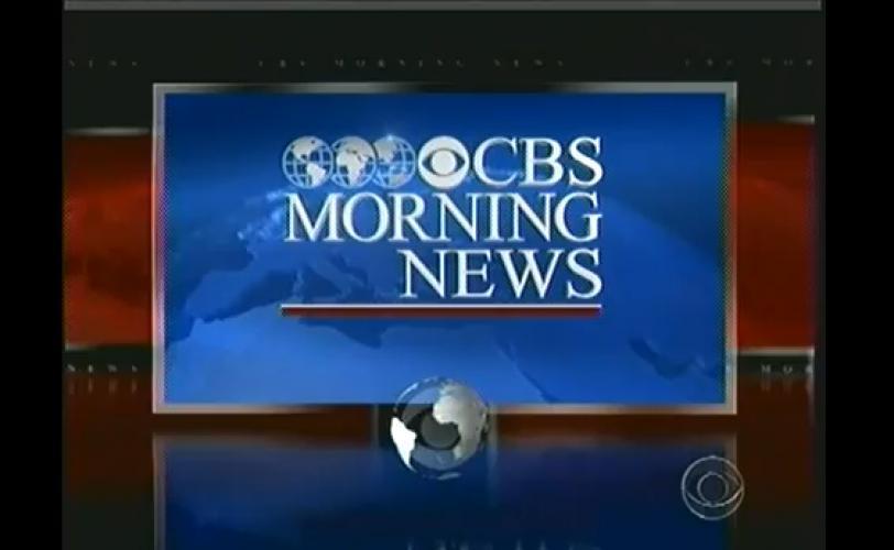 CBS Morning News next episode air date poster