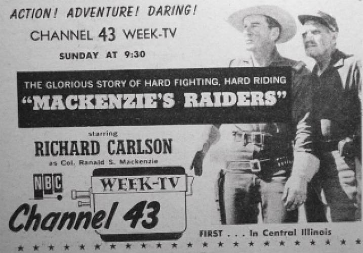 Mackenzie's Raiders next episode air date poster