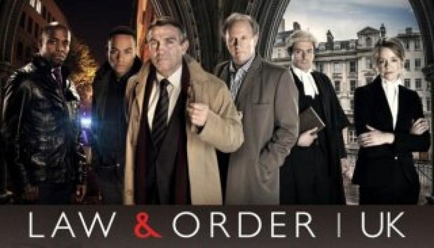 Law & Order: UK next episode air date poster