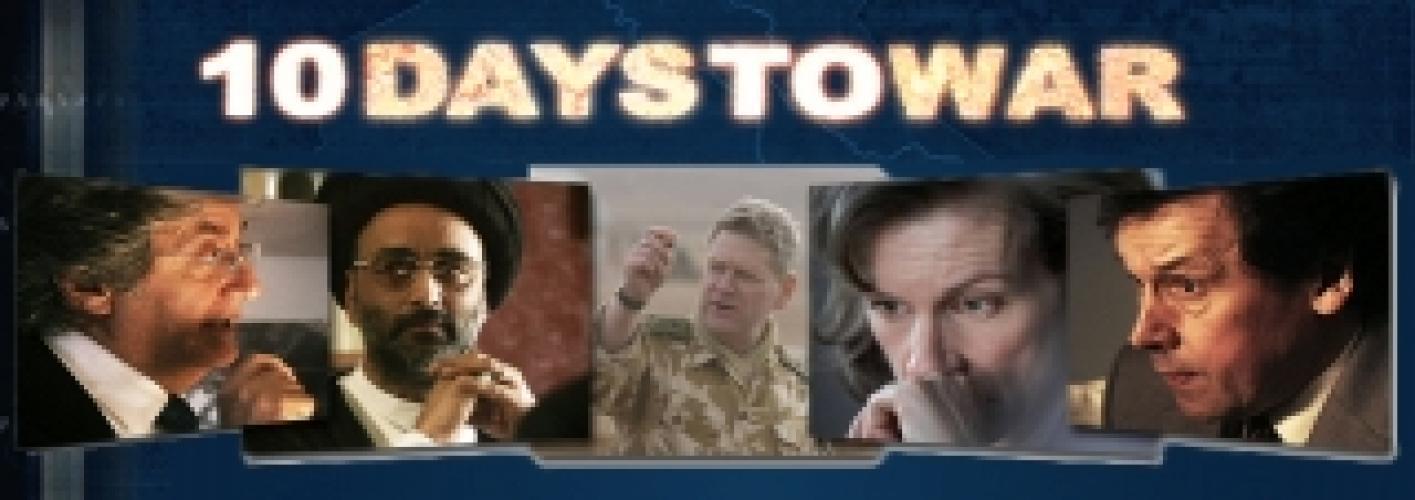 10 Days To War next episode air date poster