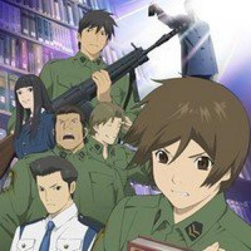 Library War next episode air date poster