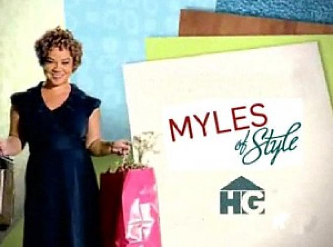Myles of Style next episode air date poster