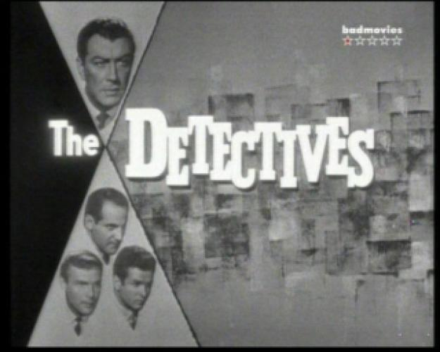 The Detectives Starring Robert Taylor next episode air date poster