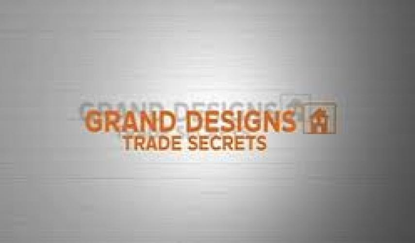 Grand Designs Trade Secrets next episode air date poster