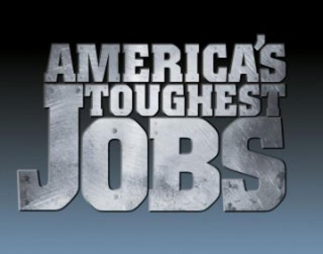 America's Toughest Jobs next episode air date poster