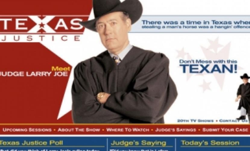 Texas Justice next episode air date poster