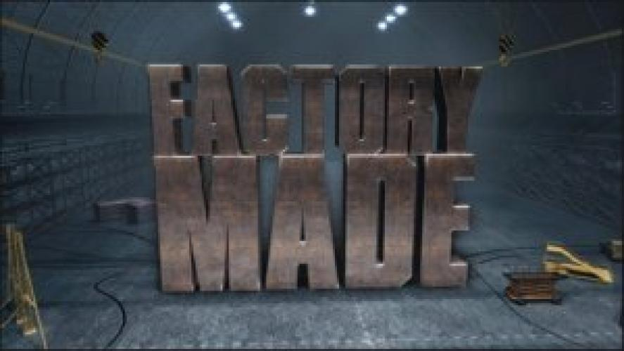 Factory Made next episode air date poster