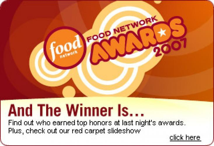 Food Network Awards next episode air date poster