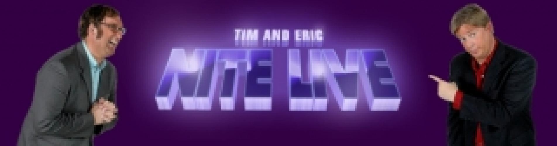 Tim and Eric Nite Live next episode air date poster