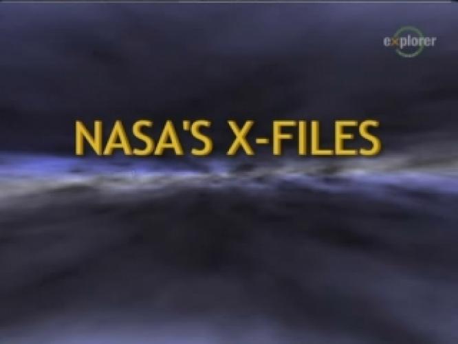 NASA's X-Files next episode air date poster
