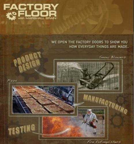 Factory Floor With Marshall Brian next episode air date poster