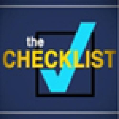 The Checklist next episode air date poster