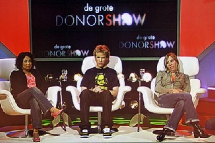 De Grote Donorshow next episode air date poster