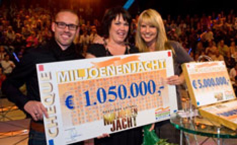 Postcode Loterij Miljoenenjacht next episode air date poster