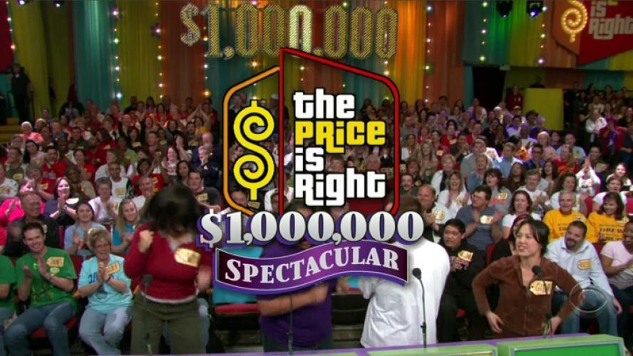 The Price Is Right Million Dollar Spectacular next episode air date poster