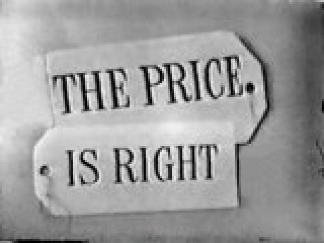 The Price Is Right (1956) next episode air date poster