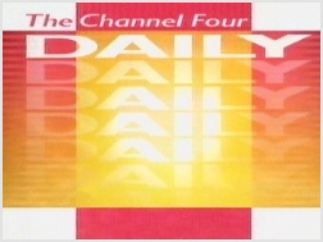 The Channel Four Daily next episode air date poster