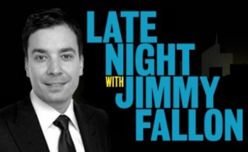Late Night with Jimmy Fallon next episode air date poster
