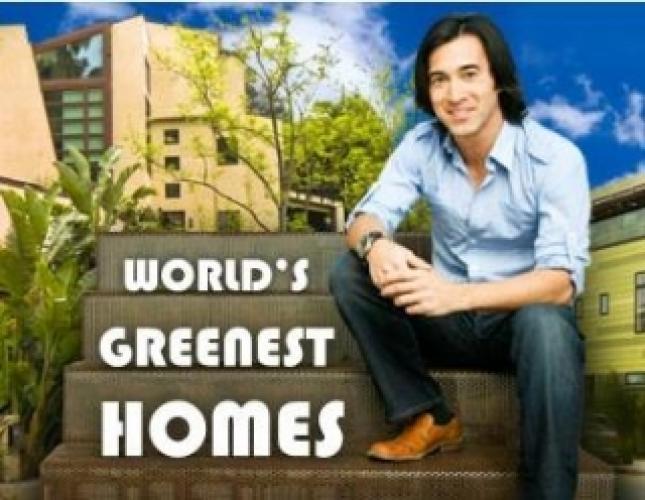 World's Greenest Homes next episode air date poster