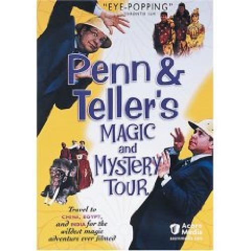 Penn & Teller's Magic and Mystery Tour next episode air date poster
