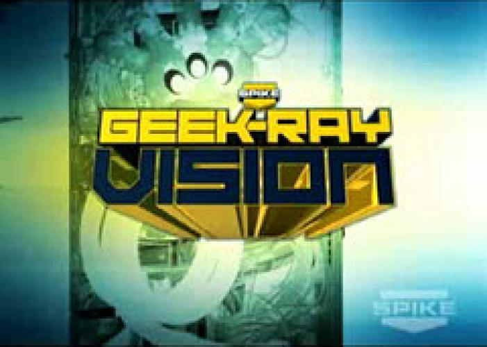 Geek-Ray Vision next episode air date poster