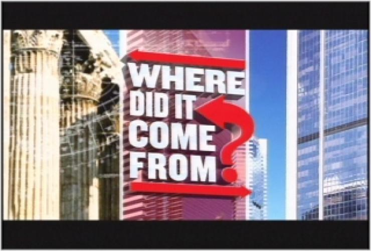 Where Did It Come From? next episode air date poster