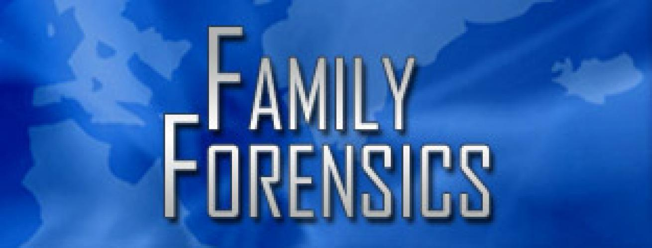 Family Forensics next episode air date poster
