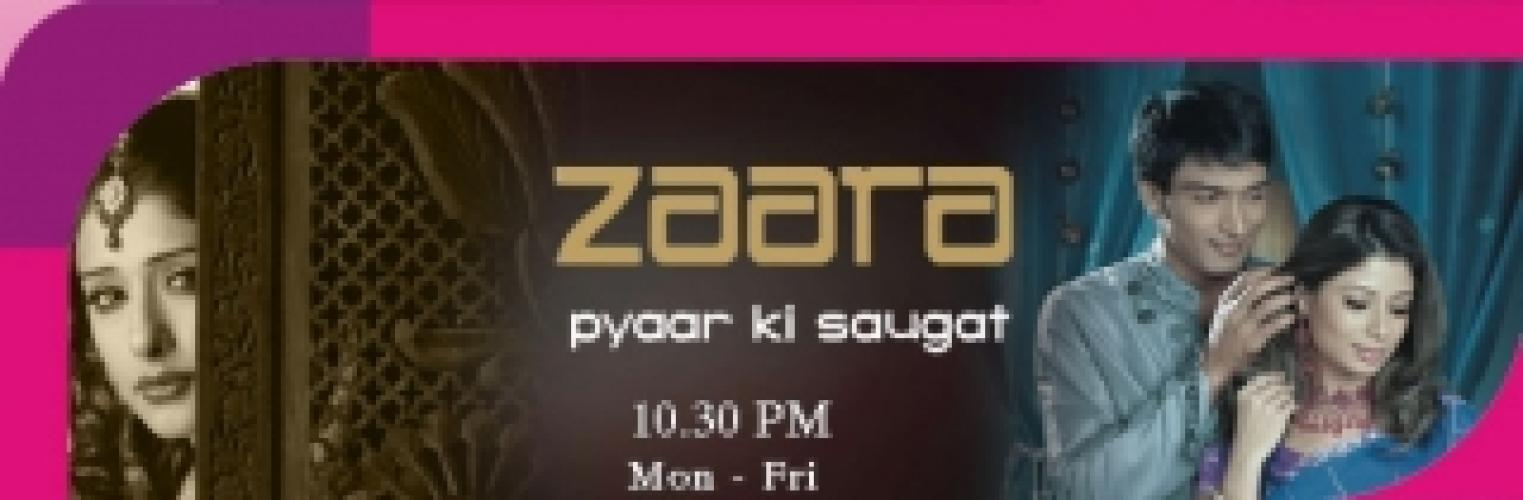 Zaara - Pyaar Ki Saugat next episode air date poster