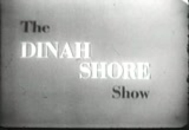 The Dinah Shore Show next episode air date poster