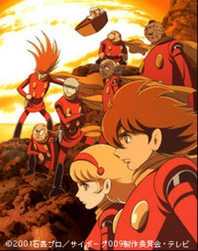 Cyborg Soldier 009 next episode air date poster