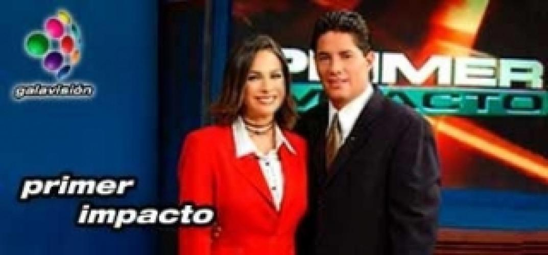 Primer Impacto next episode air date poster