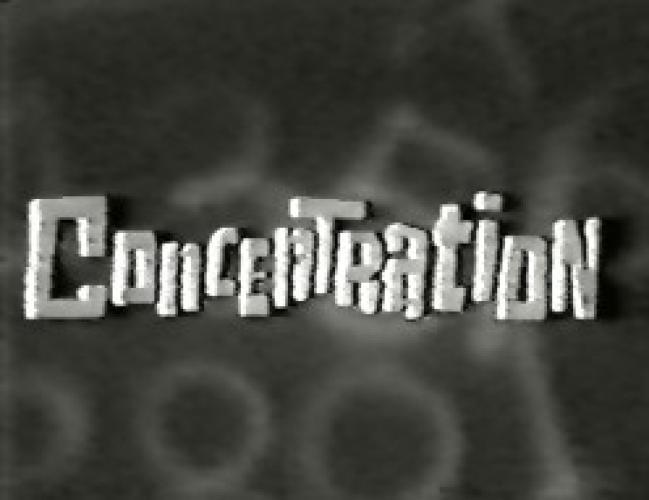 Concentration (1958) next episode air date poster