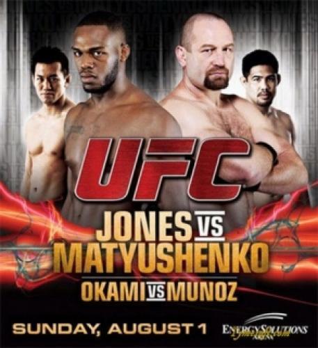 UFC On Versus next episode air date poster