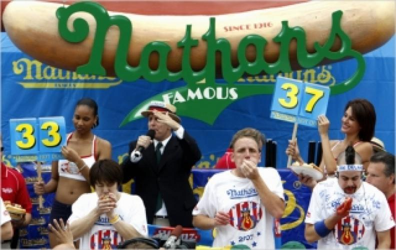 Nathan's Hot Dog Eating Contest next episode air date poster