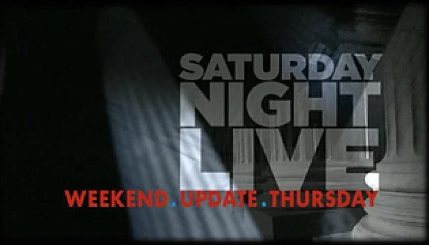 Saturday Night Live Weekend Update Thursday next episode air date poster