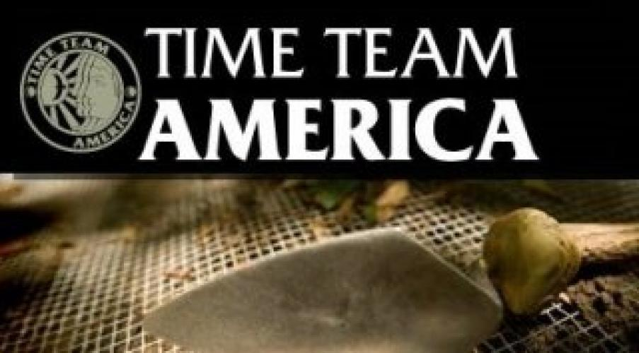 Time Team America next episode air date poster