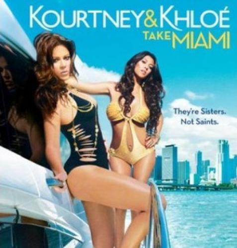 Kourtney & Khloe Take Miami next episode air date poster