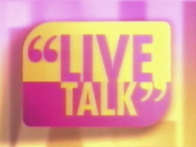 Live Talk next episode air date poster