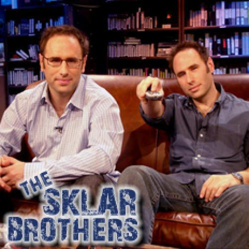 The Sklar Brothers Sports Comedy Show next episode air date poster