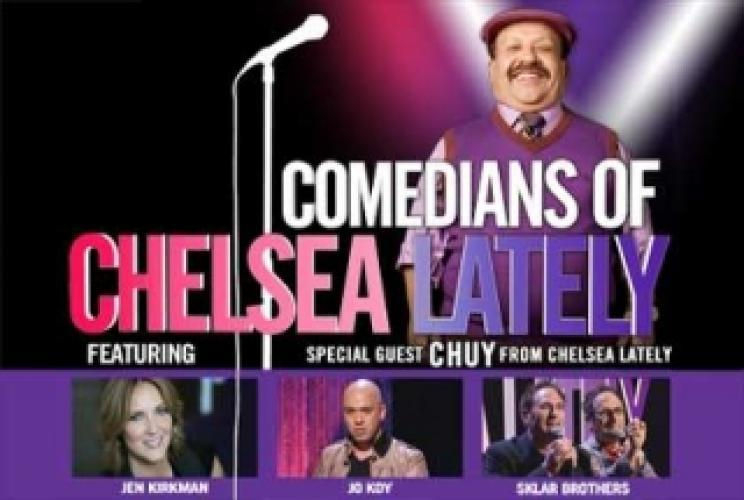 Comedians of Chelsea Lately next episode air date poster