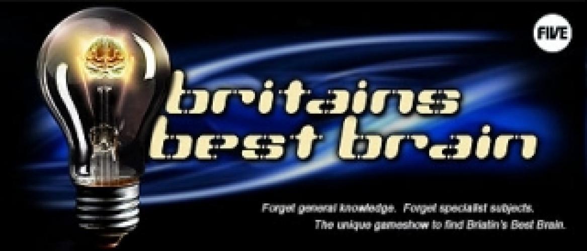 Britain's Best Brain next episode air date poster