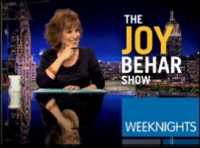The Joy Behar Show next episode air date poster