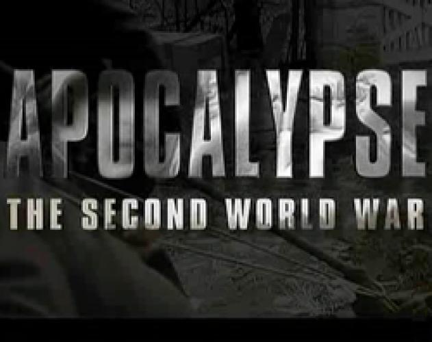 Apocalypse: The Second World War next episode air date poster