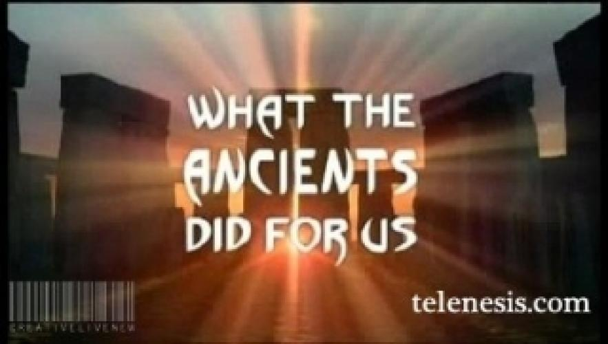 What the Ancients Did For Us next episode air date poster