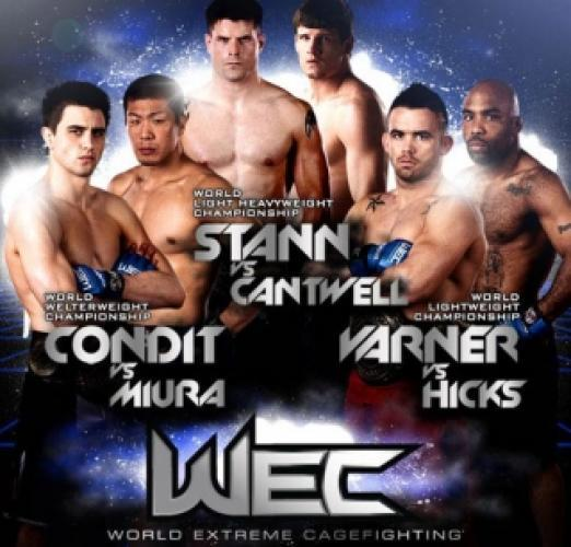 World Extreme Cagefighting next episode air date poster